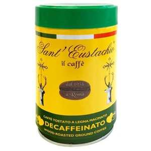 Espresso Sant Eustachio Decaffeinated can 250g αλεσμένος