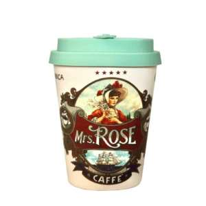 Mrs Rose Ecoffee cup – 350ml