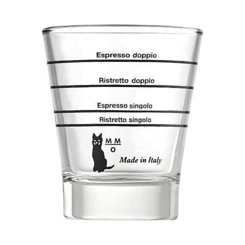 Motta 1412 Γυάλινο Δοσομετρικό Ποτήρι Καφέ Βαθμονομημένο