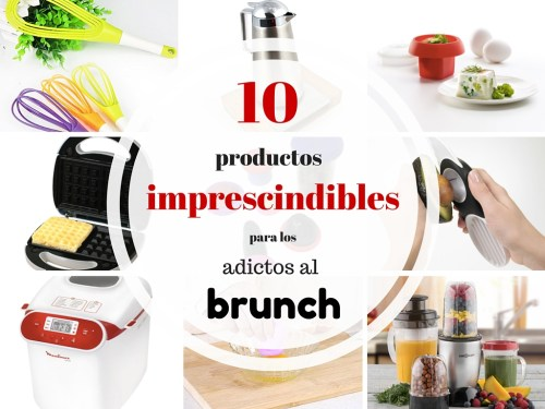 productos imprescindibles para los adictos al brunch
