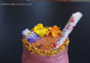 Brunch con smoothie en Trópico Barcelona