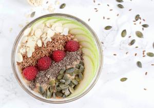 Receta de brunch - Porridge de manzana