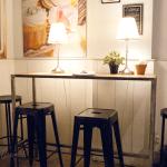 El espacio interior en Think Sweet - Nuevo brunch en Barcelona