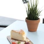 Tarta de queso japonesa - nuevo brunch en Barcelona