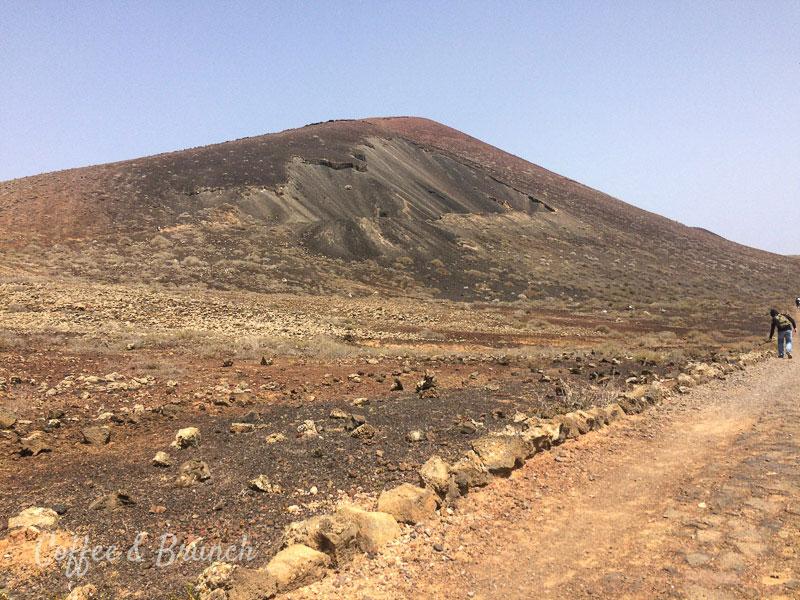 Brunch en Fuerteventura - Mezclando trabajo con placer - Volcán Calderón Hondo