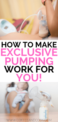 How to Make Exclusive Pumping Work for You
