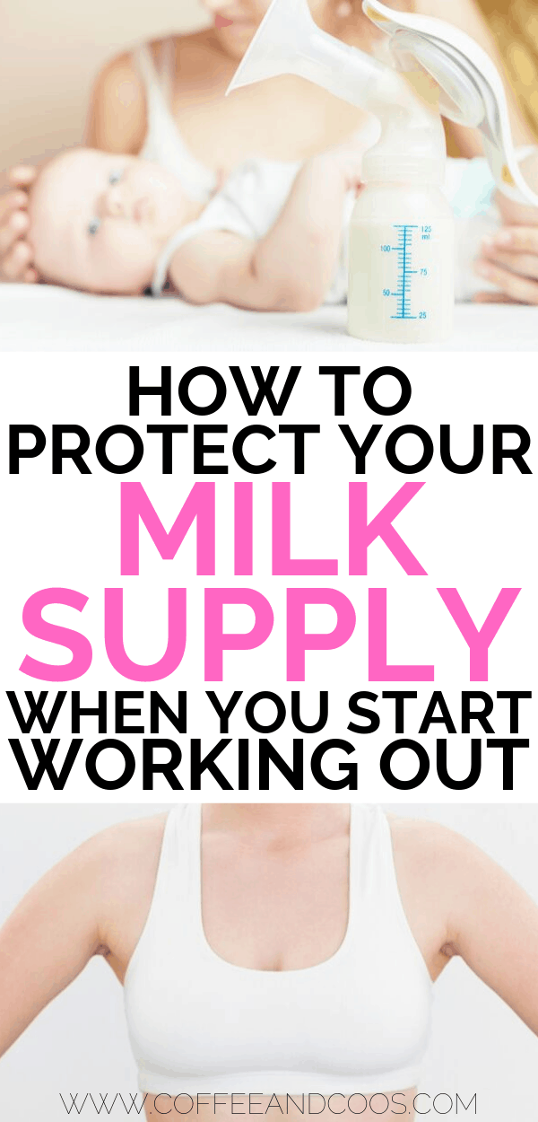 Protecting Your Milk Supply When Starting To Workout Postpartum