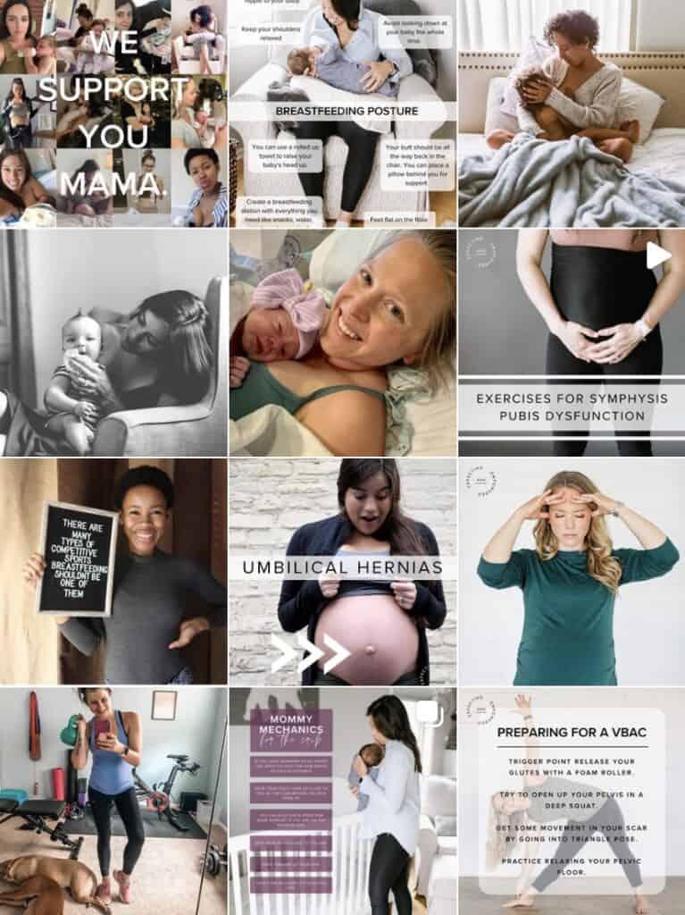 best instagram pregnancy accounts
