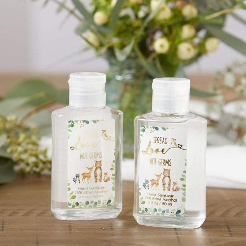 budget friendly baby shower favors - hand sanitizer