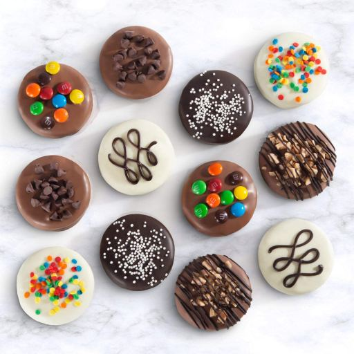 cheap baby shower favors - chocolate covered oreos