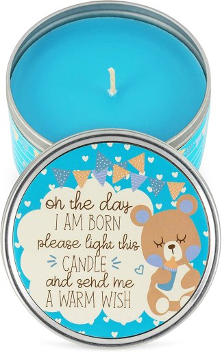 baby shower candle favor