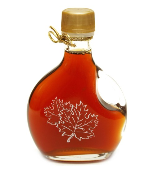 syrup baby shower favor