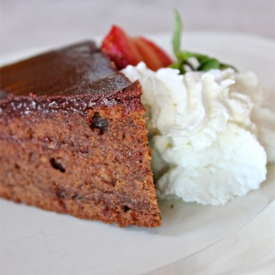 Sachertorte for Valentine's Day