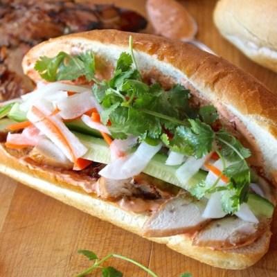 Banh Mi Ga ~ Vietnamese Chicken Sandwich