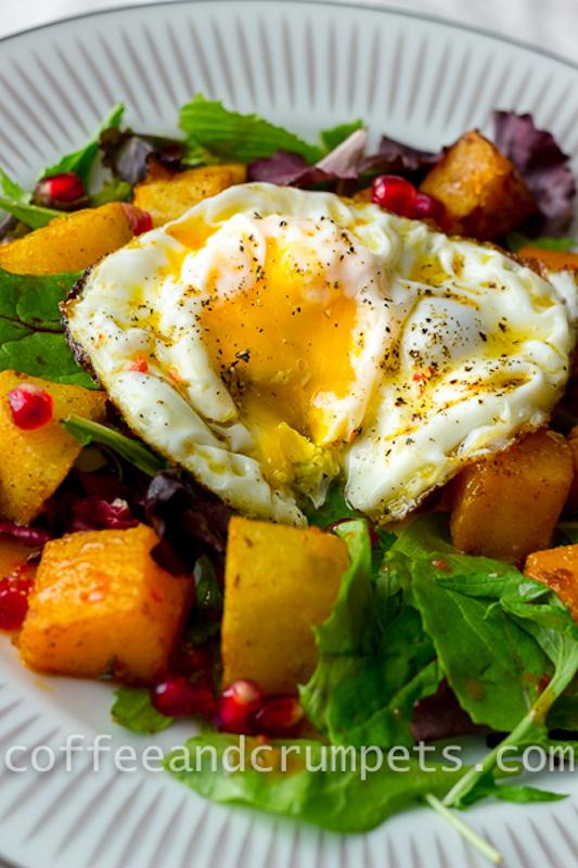 Butternut Squash and Sweet Potato Salad-6