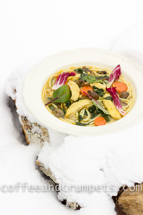 curried chicken noodle soup-3
