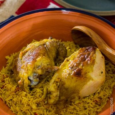 Chicken Kabsa   Saudi Style Chicken and Rice