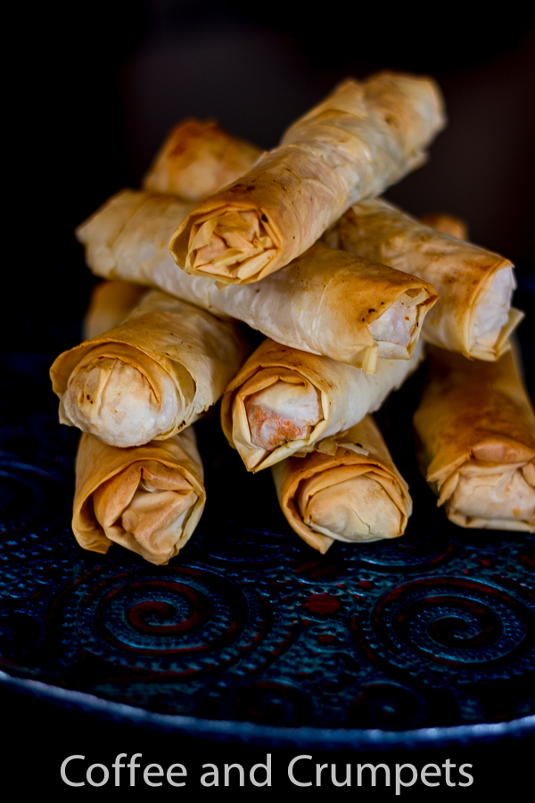 Sweet Potato Phyllo Cigars