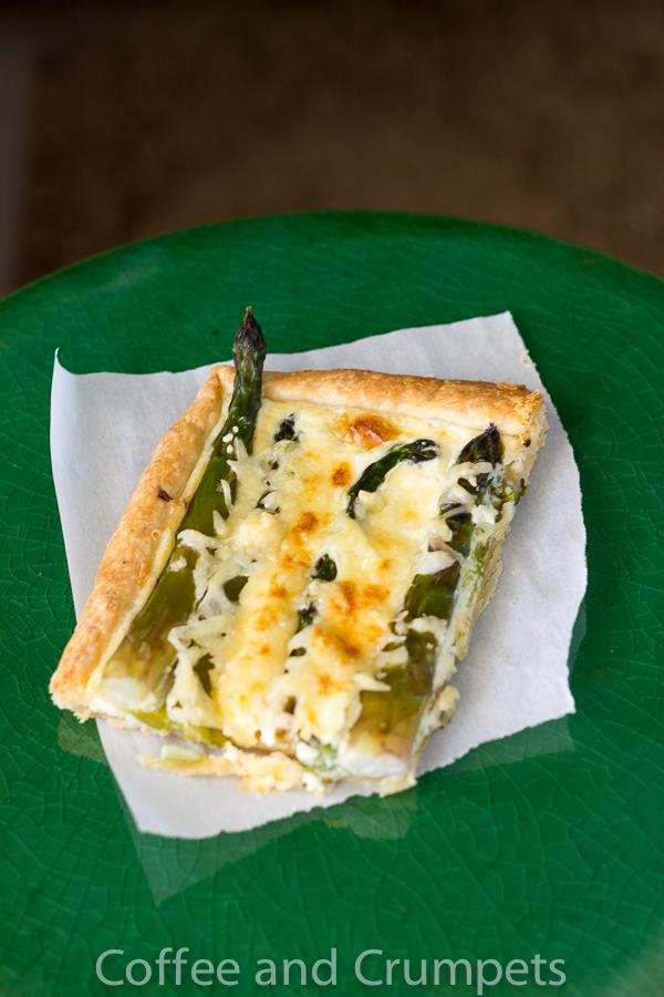 Asparagus and Emmentaler Tart-2