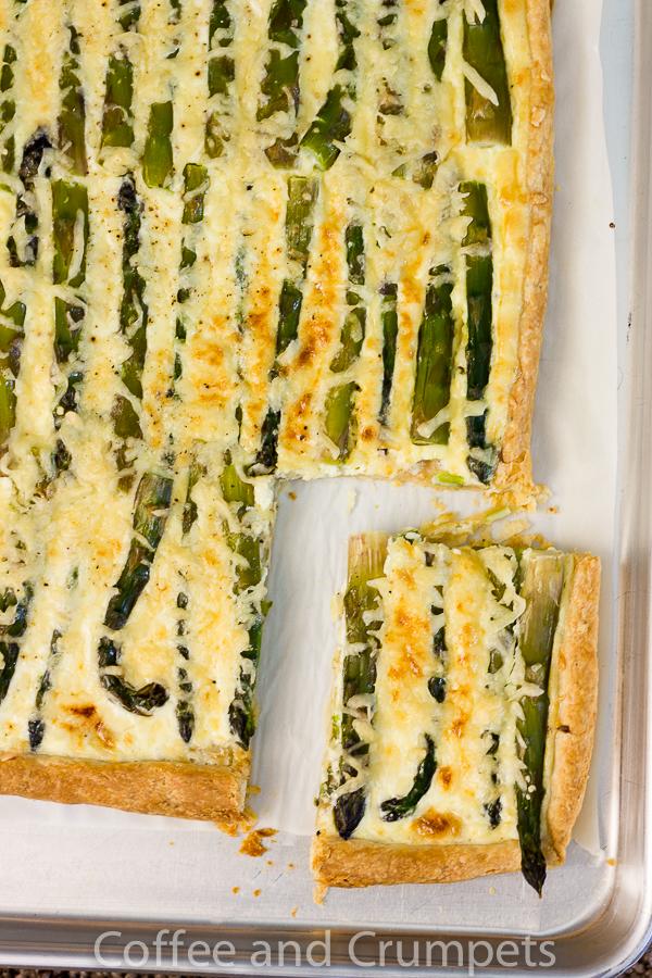 Asparagus and Emmentaler Tart-5