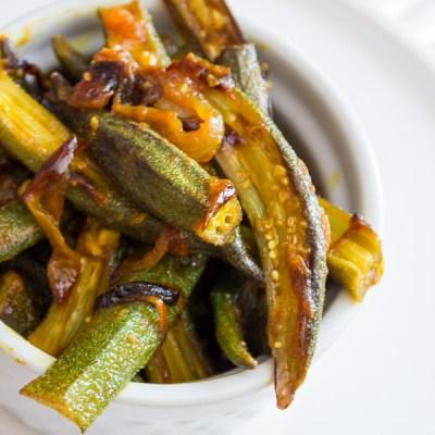 Bhindi Masala | Indian Fried Okra