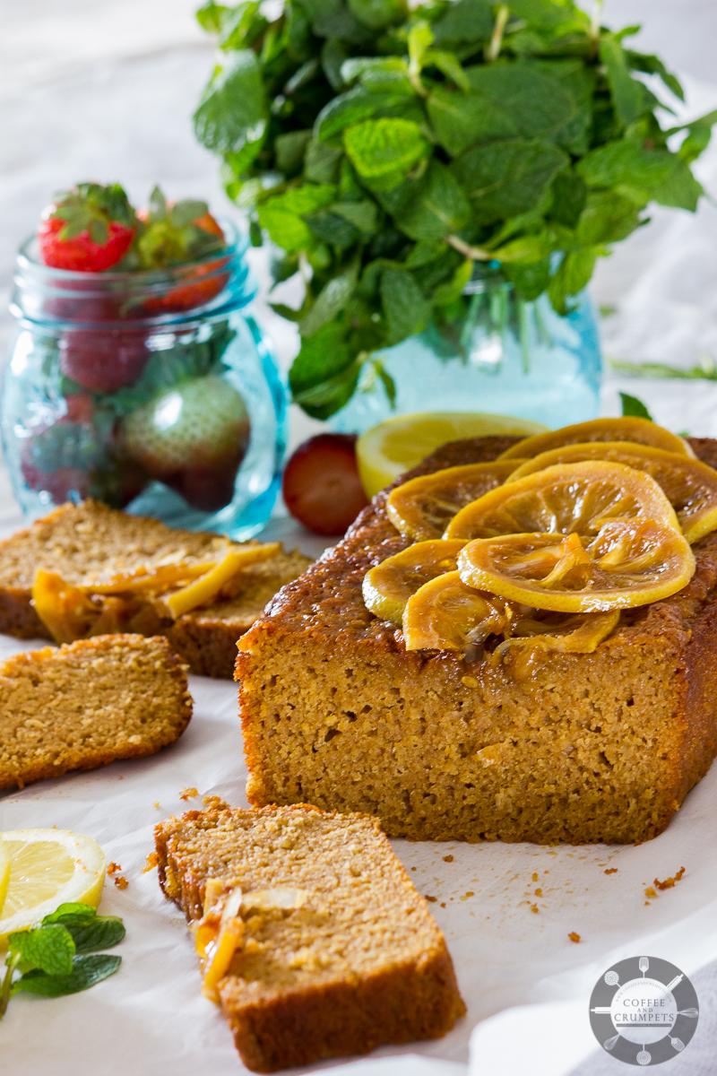 Lemon Spelt Loaf