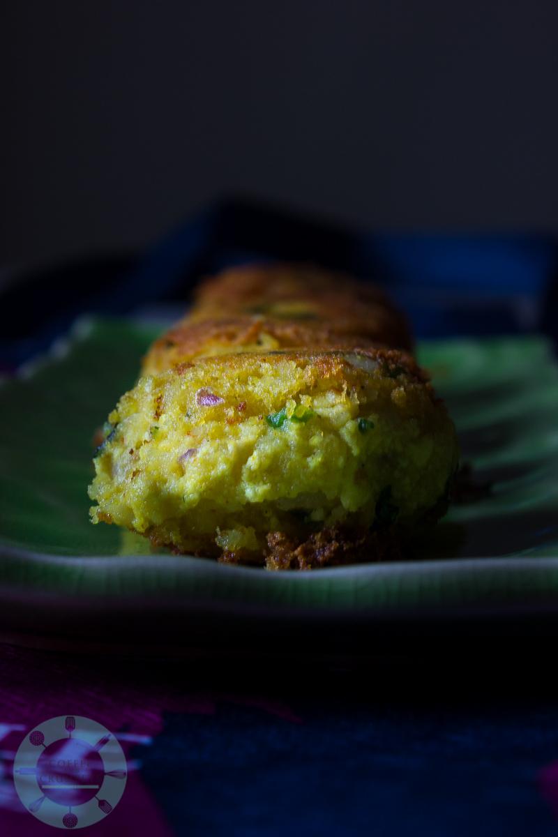 Tofu Potato Patties |Vegetarian Tikka Masala