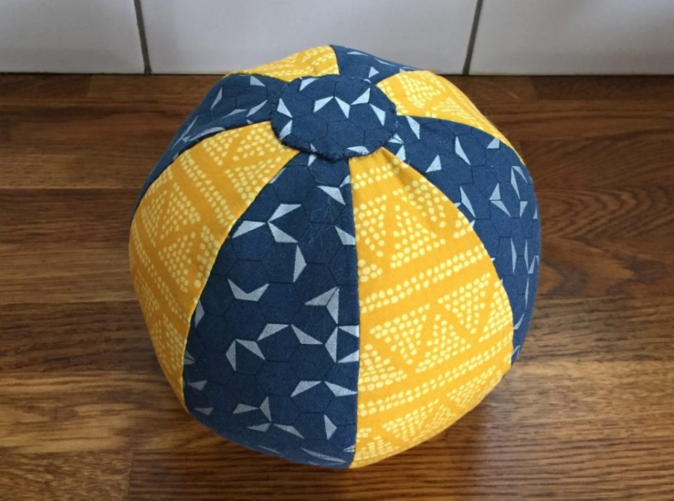 Sewing Baby Toys - Finished Ball