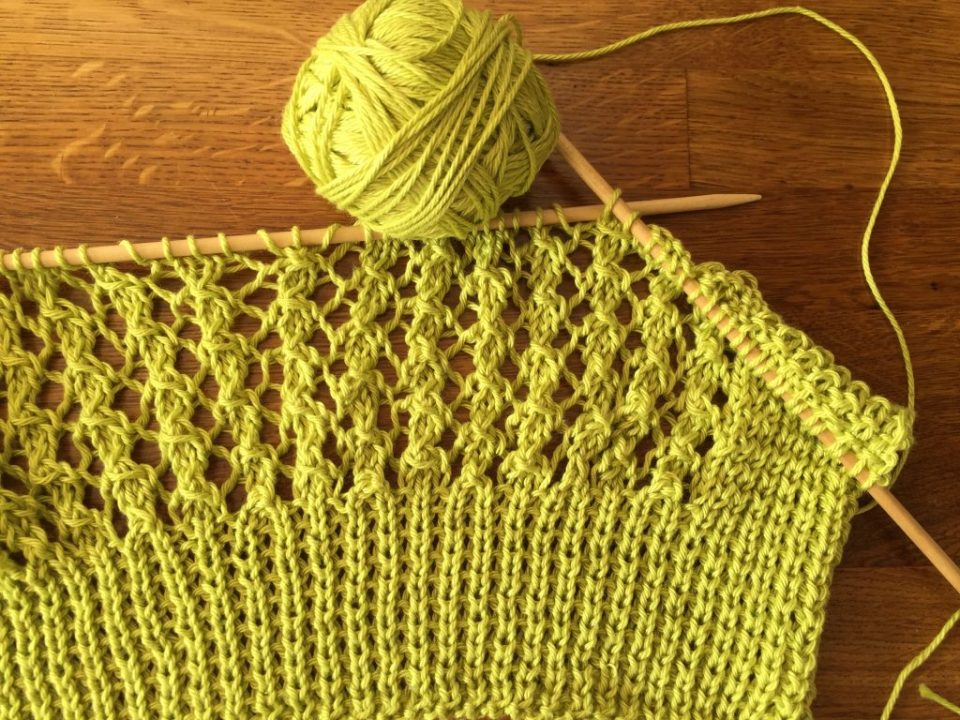 Lace and Ribbing