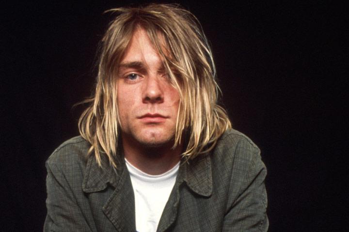 6. Kurt Cobain
