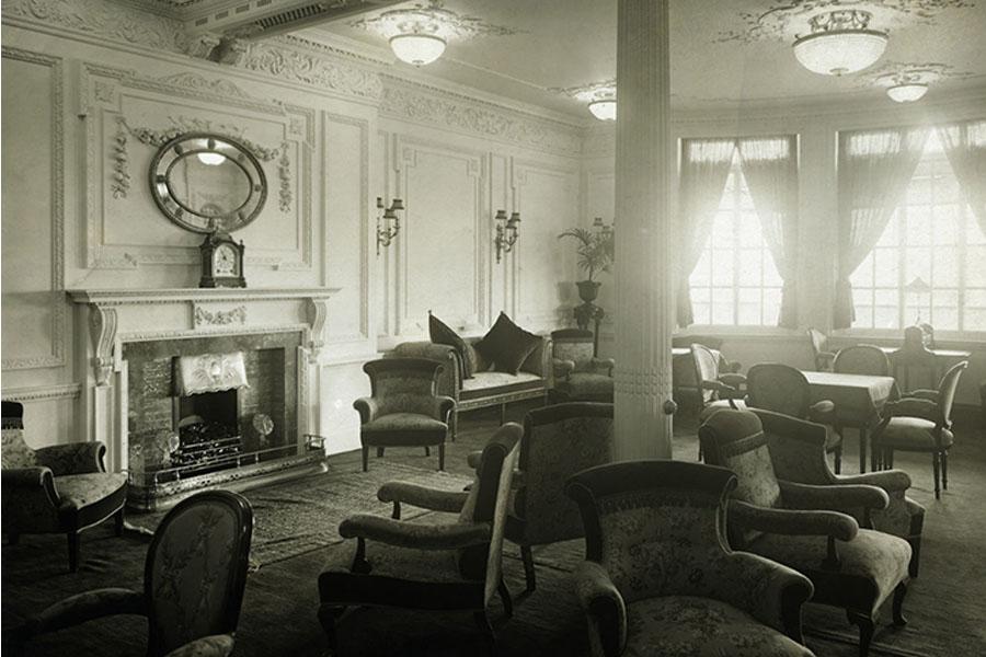 18. Interior Of The Titanic