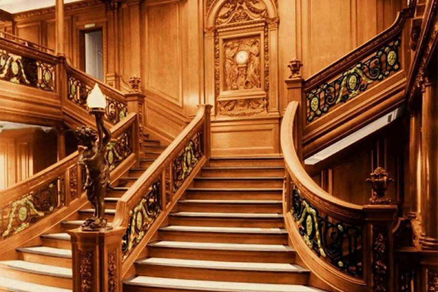 19. Interior Of The Titanic