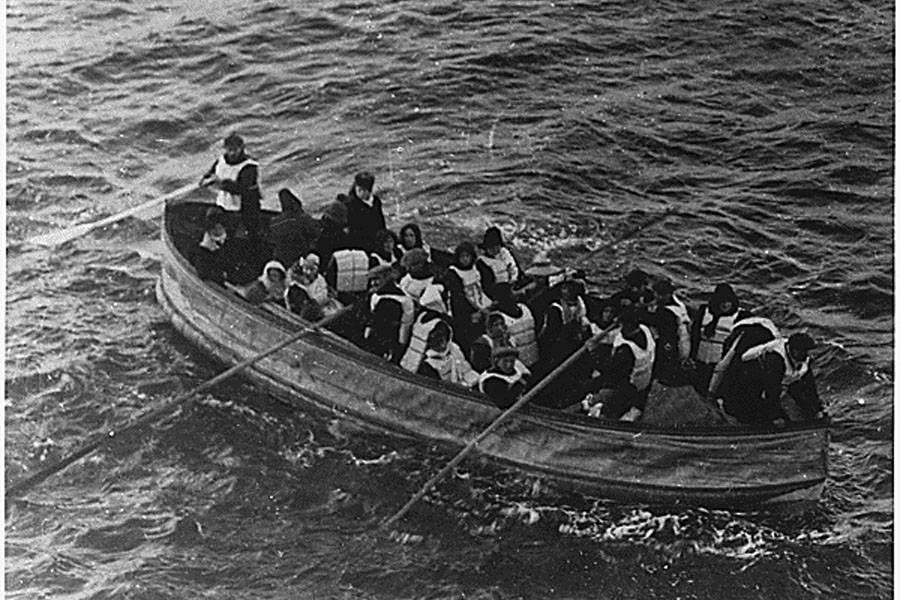 30. Survivors Of The Titanic