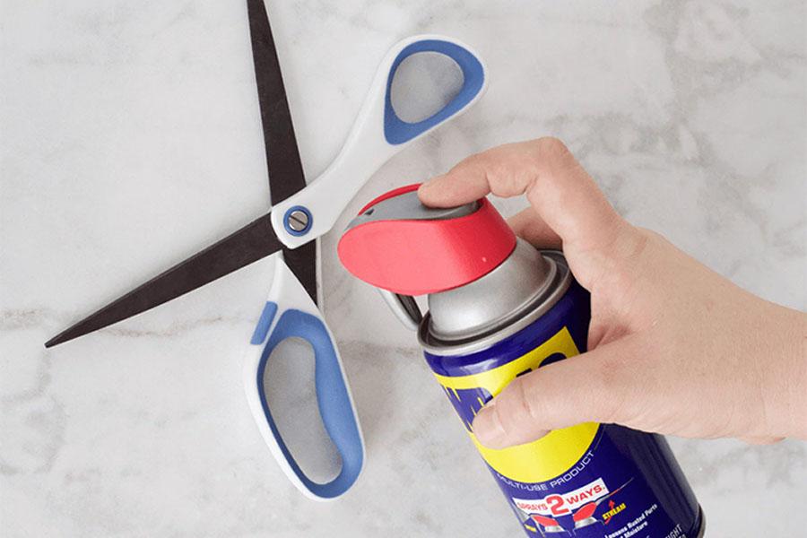 7. Sticky Scissors
