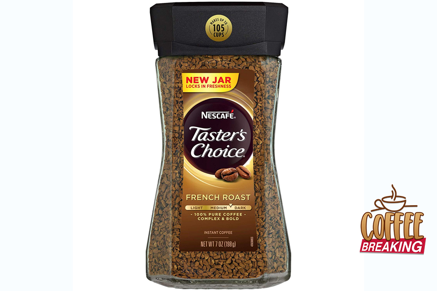 4 Nescafe Tasters Choice Instant Coffee French Roast Top 5 Grocery Bought Coffee Brands