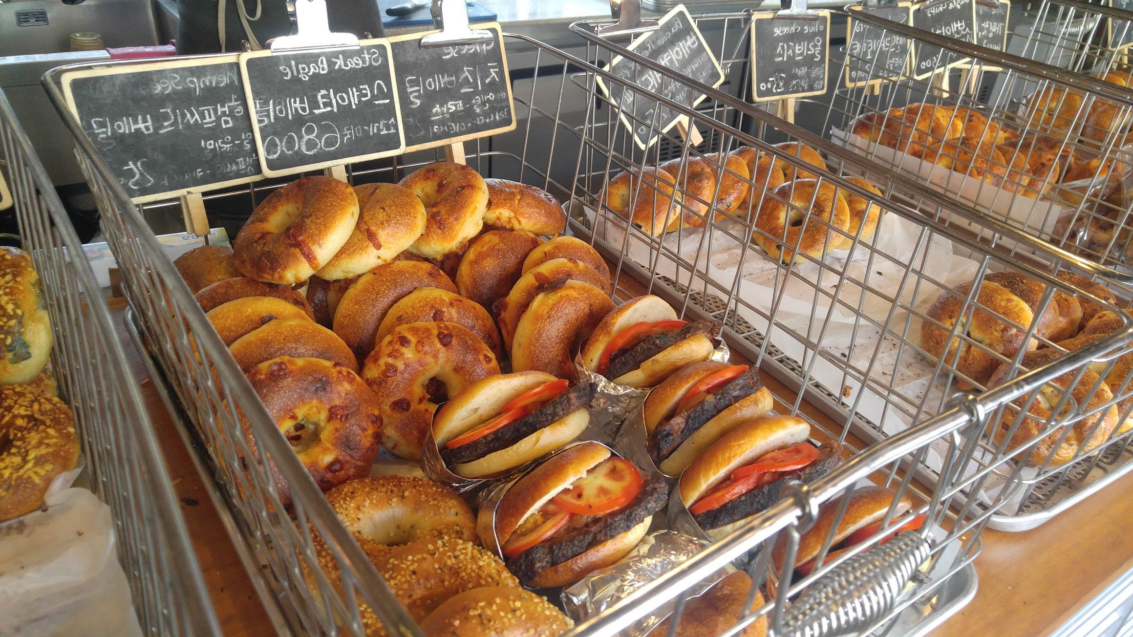 The Best Bagels in Korea