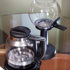 Kitchen Air Used On Wheels For Sale Living With The Aid Vacuum Coffee Brewer Stand