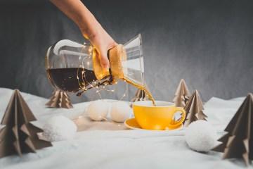kawa na święta