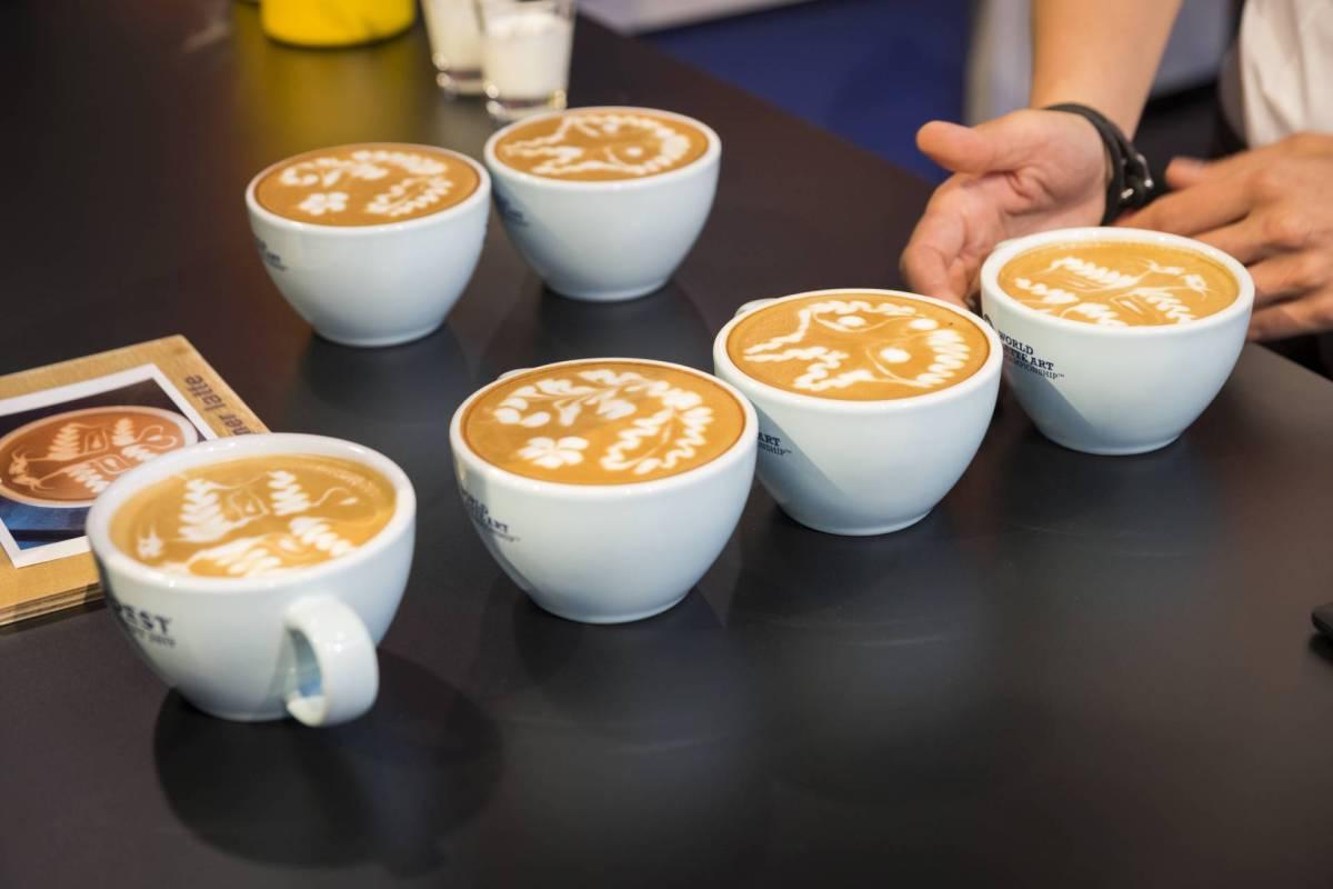 world of coffee latte art 2017