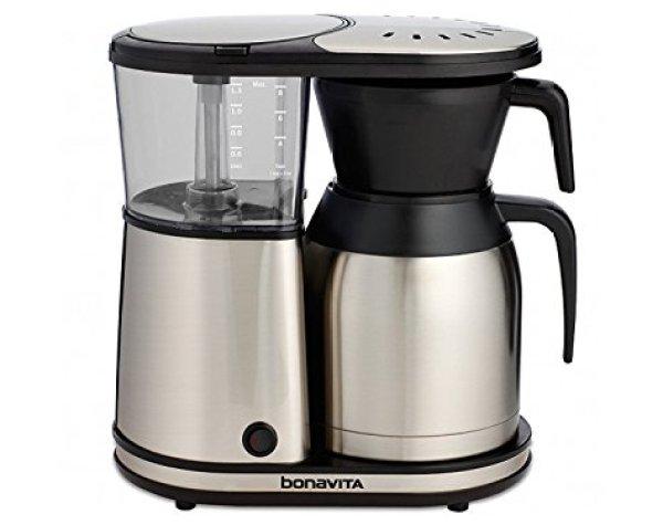Best Coffee Makers Review Guide - Bonavita BV1900TS 8-Cup Carafe Coffee Brewer