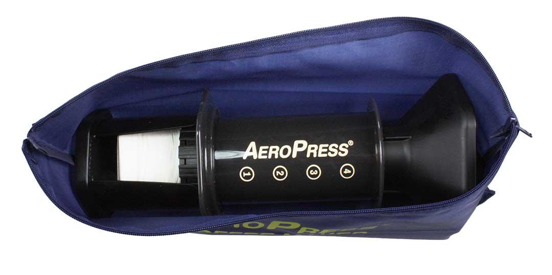 Aeropress Coffeemaker with Tote Bag