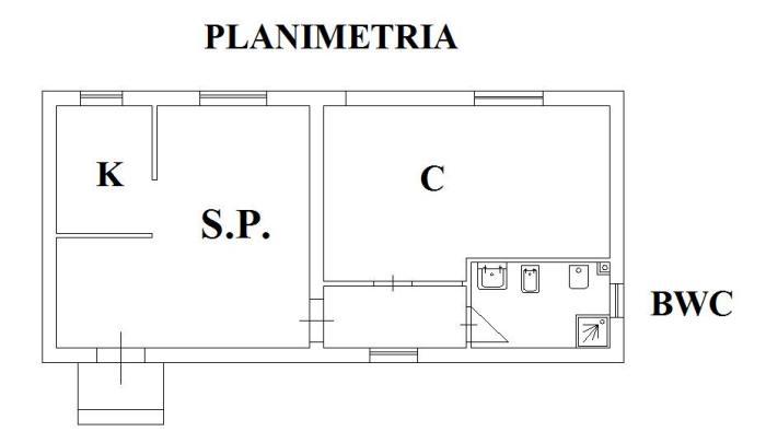 Planimetria Bagno Con Vasca E Doccia