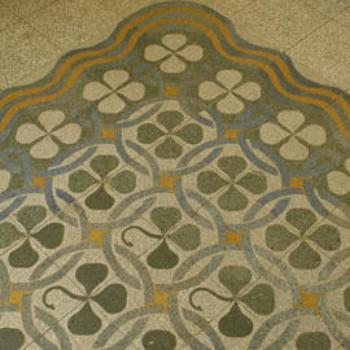 Pavimento in mattonelle di graniglia Come fare