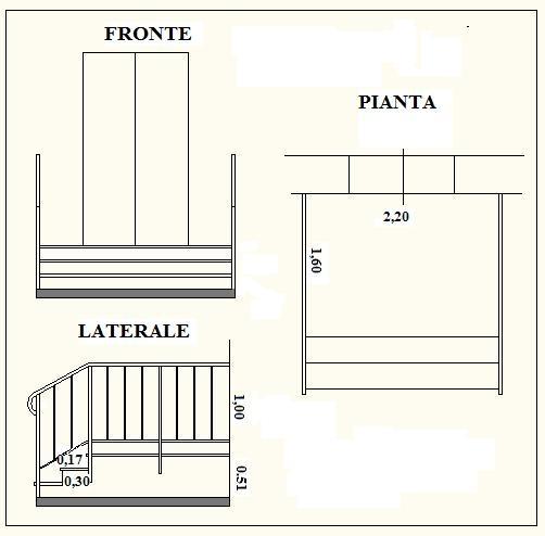 Preventivo n 19 Calcolare i costi di costruzione di una scala di accesso in muratura