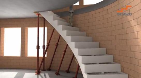 Una innovativa cassaforma per scale in calcestruzzo su misura