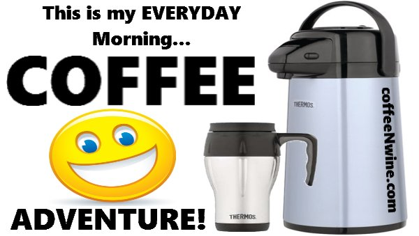 This is my everyday morning coffee adventure