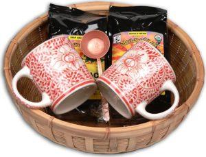 Make a Coffee Gift Basket