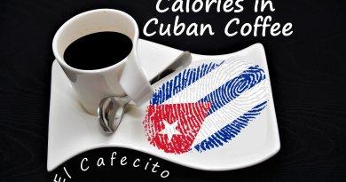 Calories in Cuban Coffee - El Cafecito - Cafecito Cubano