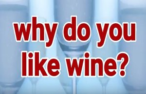 Why Do You Like Wine