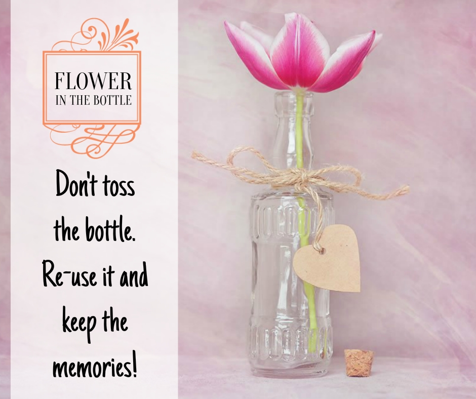 Tumblr Wine Quotes Images - Do not the bottle reuse it and save the memories